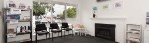 Waiting Room at Healing Hands Osteopath Croydon