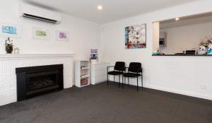Waiting Room at Healing Hands Osteopath Croydon