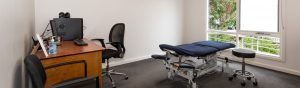 Treatment Room at Healing Hands Osteopath Croydon
