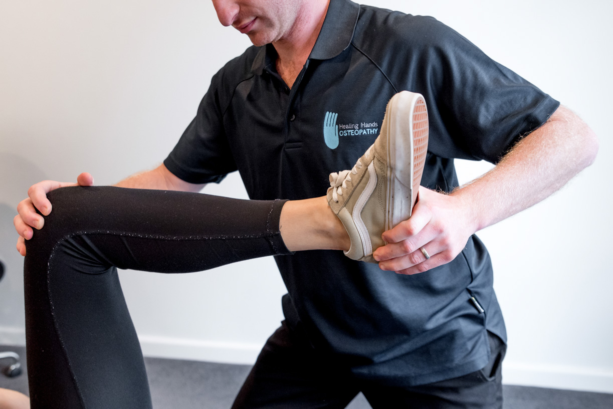 Adam Beckman at Osteopath Kilsyth