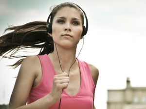 Ways to improve running - music